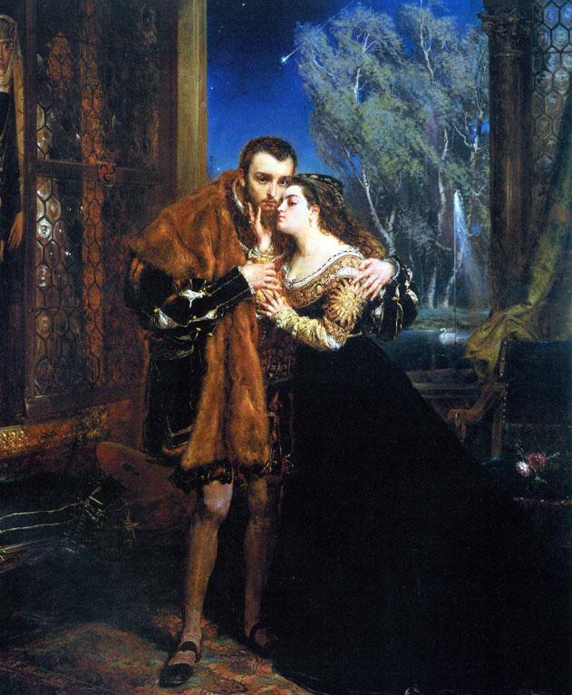 Ян Алоизий Матейко - «Зигмунт Август и Барбара Радзивилл» (1867).